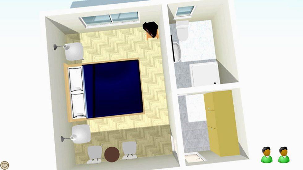 Doppel Raum Layout