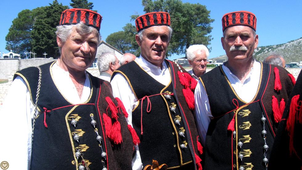 Kroatien etno
