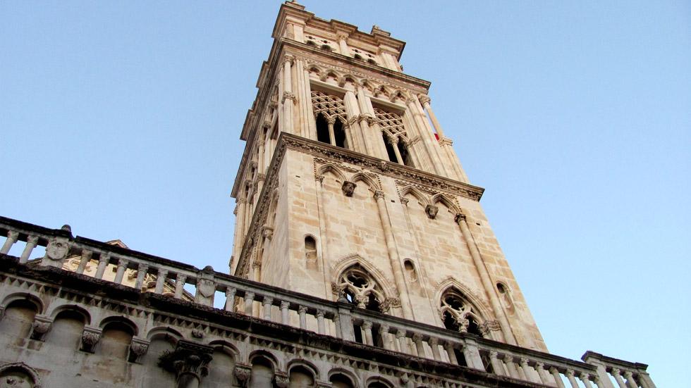 Trogir Glockenturm Der Kathedrale