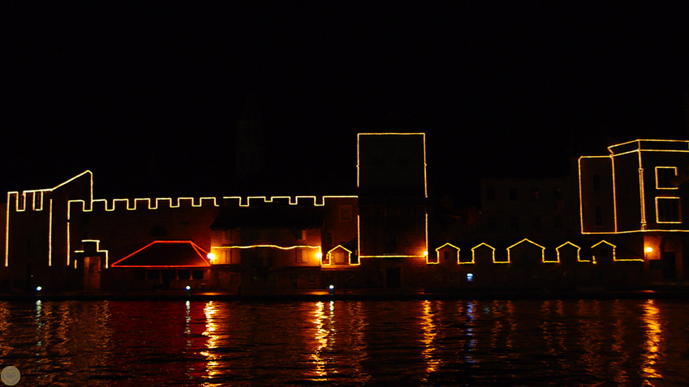 Trogir Nacht